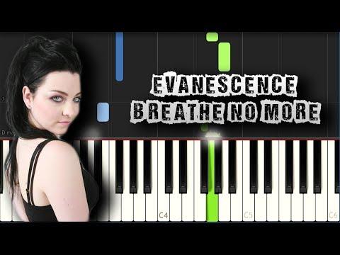 Evanescence - Breathe No More - Piano Tutorial Synthesia (Download MIDI + PDF Sheets)