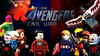 LEGO Avengers: Civil War Part 1 / LEGO Мстители: Гражданская Война Часть 1