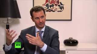 Syria 39 In A State Of Complete War 39 With Terrorism Assad Full Interview