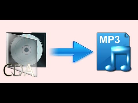 Programa para convertir formato  CDA A MP3