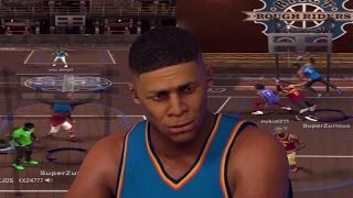 RUSSELL WESTBROOK AT THE PARK! CRAZY CONTACT DUNKS! NBA 2K17 MyPark Mixtape