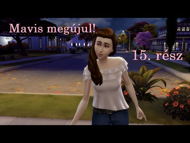 Mavis Lane 15. rész - Interaktív Gameplay - The Sims 4