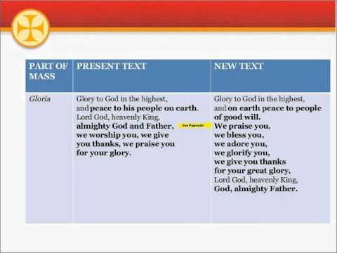 Part 2: Roman Missal Changes Webinar with Joe Paprocki, sponsored by Loyola Press