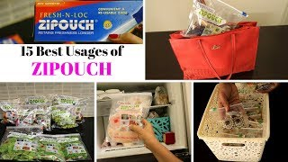 15 Best Usages Of Zipouch Bags