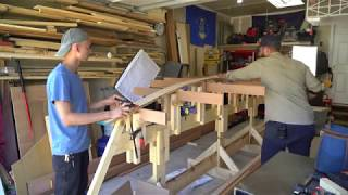 Wooden Boat Build // Part 3: Transom and Keelson