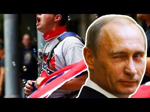 Russia Propaganda Pushing American Protests