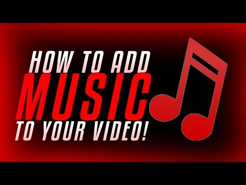 How to Add Music to Your Videos with YouTube Editor! (2016)