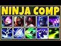NINJA ASSASSIN COMP 2019 (REWORKED AKALI) THE DEADLIEST TEAM EVER - League of Legends