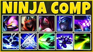NINJA ASSASSIN COMP 2019 (REWORKED AKALI) THE DEADLIEST TEAM EVER - League of Legends