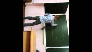Урок обж! Какой учитель кривой!