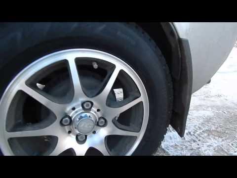 Лада Калина. Самый большой диаметр колеса.