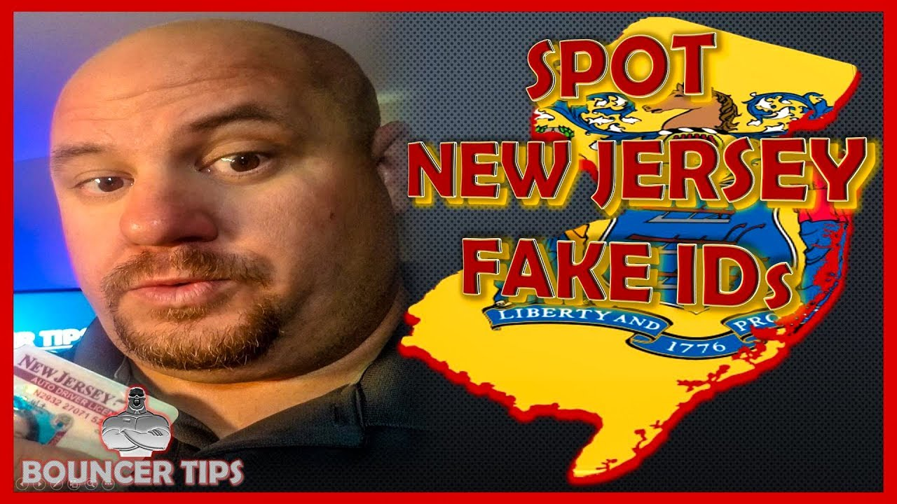 How do you Spot a Fake ID from New Jersey? Bouncer Tips (2018)