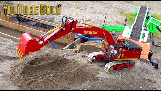 YouTube GOLD (S3 E6) BiG JOHNSON 374FL FEEDS GOLD FOX WASH PLANT for the FIRST TIME! | RC ADVENTURES