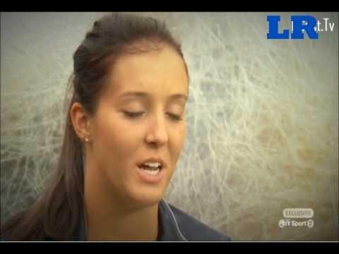 Laura Robson Interview - BT Sport