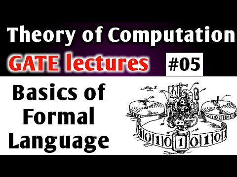 Basics Of Formal Language In Theory Of Computation In Hindi | TOC GATE Lectures