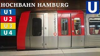 U-Bahn Hamburg / Hochbahn Hamburg 2017 (alle 4 Linien)
