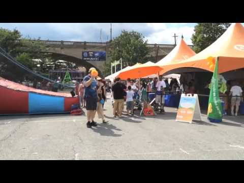 Walking tour of Musikfest 2015: Plaza Tropical and Kinderplatz