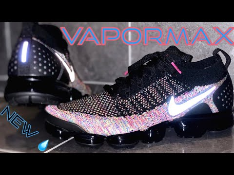 pretty nice ca358 0dce8 NEW DRIP ALERT!! | NIKE AIR VAPORMAX FLYKNIT 2 BLACK-RACER PINK REVIEW & ON  FEET!