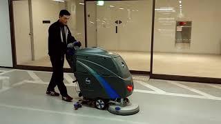 지하주차장 습식바닥청소_선명청소기