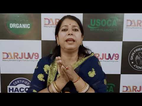 #DARJUV9  Organic Leader Ritika Ji Go organic Eco Entrepreneurs