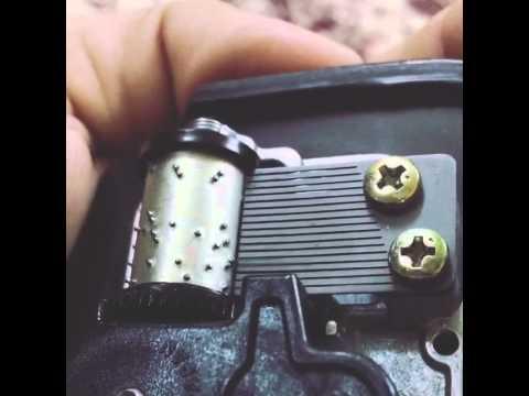 Broken music box..