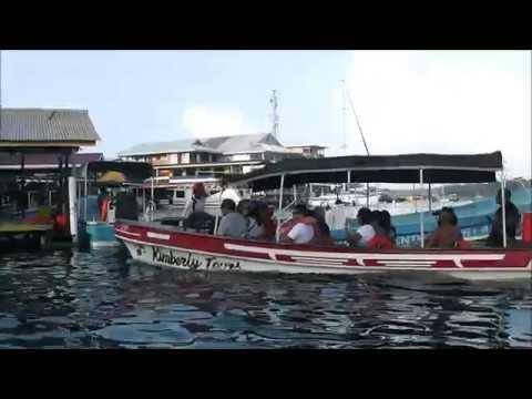 Bocas del toro town Isla Colon