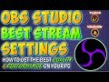 BEST OBS SETTINGS For Streaming (2018) How To Set Up & Use OBS (Twitch & Youtube) OBS Tutorial Guide