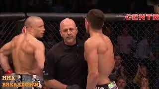 George St Pierre vs Nick Diaz Best Highlights thumbnail