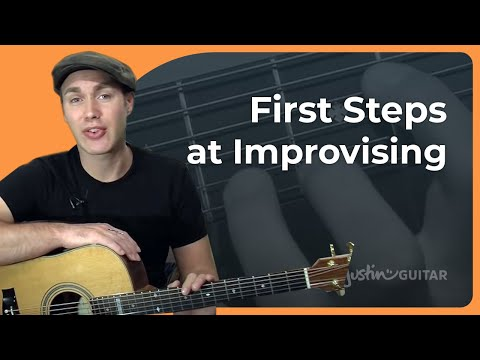 Major Scale Pattern 1: Basic Improvisation - How to Play Guitar - Stage 2 Guitar Lesson [IM-123]
