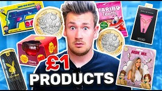 TESTING WEIRD £1 PRODUCTS #2