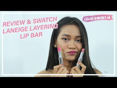 review-&-swatch-laneige-layering-lip-bar-di-kulit-sawo-matang- -shade-bitter-rose-&-fierce-fuchsia