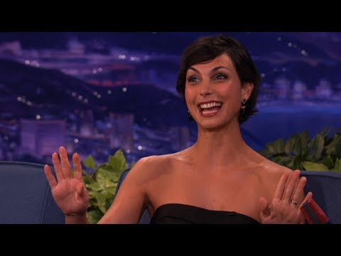 Morena Baccarin's Thong Has Brush With Disaster  Conan on TBS