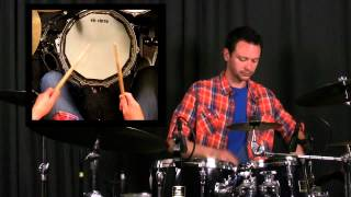 How To Play A Double Stroke Roll - Drumming Rudiments and Drum Lessons