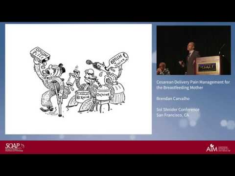 Cesarean Delivery Pain Management for the Breastfeeding Mother Brendan Carvalho