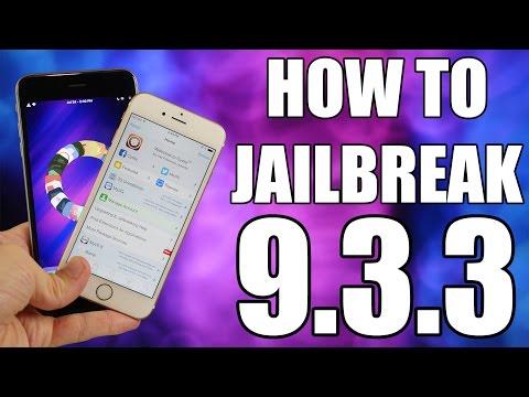 HOW TO JAILBREAK iOS 9.3.3 - PANGU JAILBREAK!!