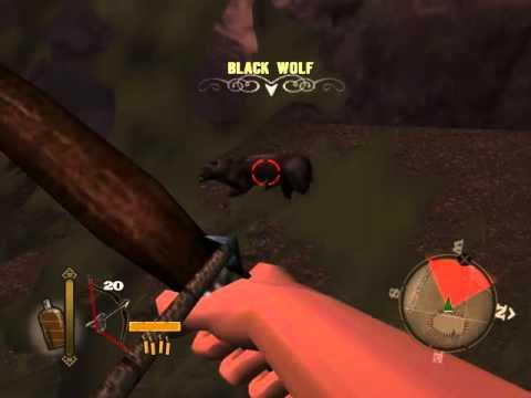 "Gun - Black Wolf ""Lobo Negro"" com o arco"