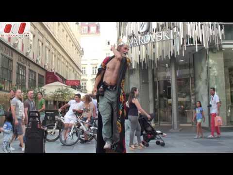Valeri. (Bulgaria). Dance. Amazing Vienna Street Performers Live by Russian Austria (FHD)