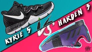 Nike Kyrie 5 vs Adidas Harden Vol 3!