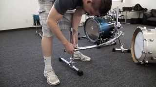 Jason Derulo Drummer James Agnew's Versatile Drum Rack | Brent's Hang Pt1