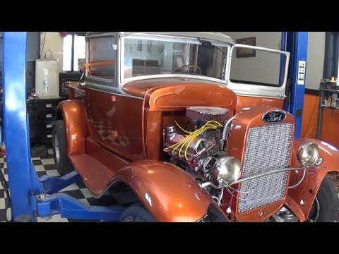 1930 Ford Hot Rod Wiring Harness Install - YouTube