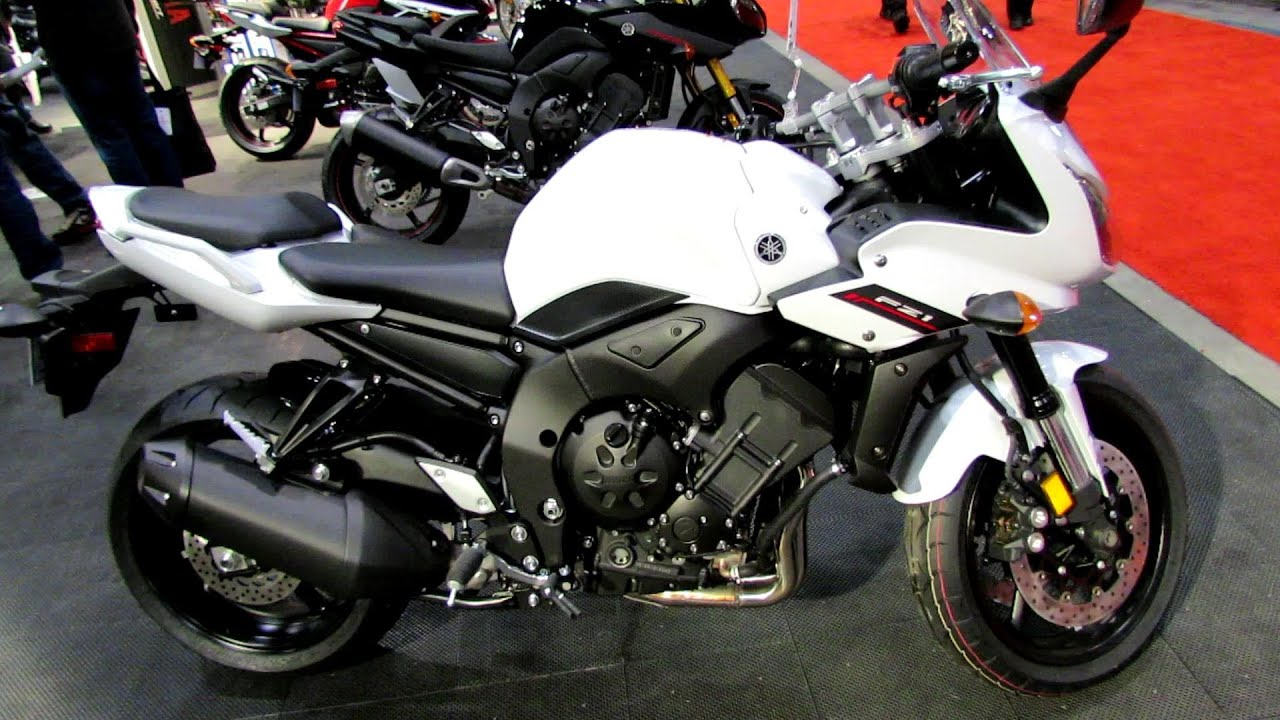 2014 Yamaha FZ1 Walkaround - 2014 Toronto Motorcyle Show - YouTube