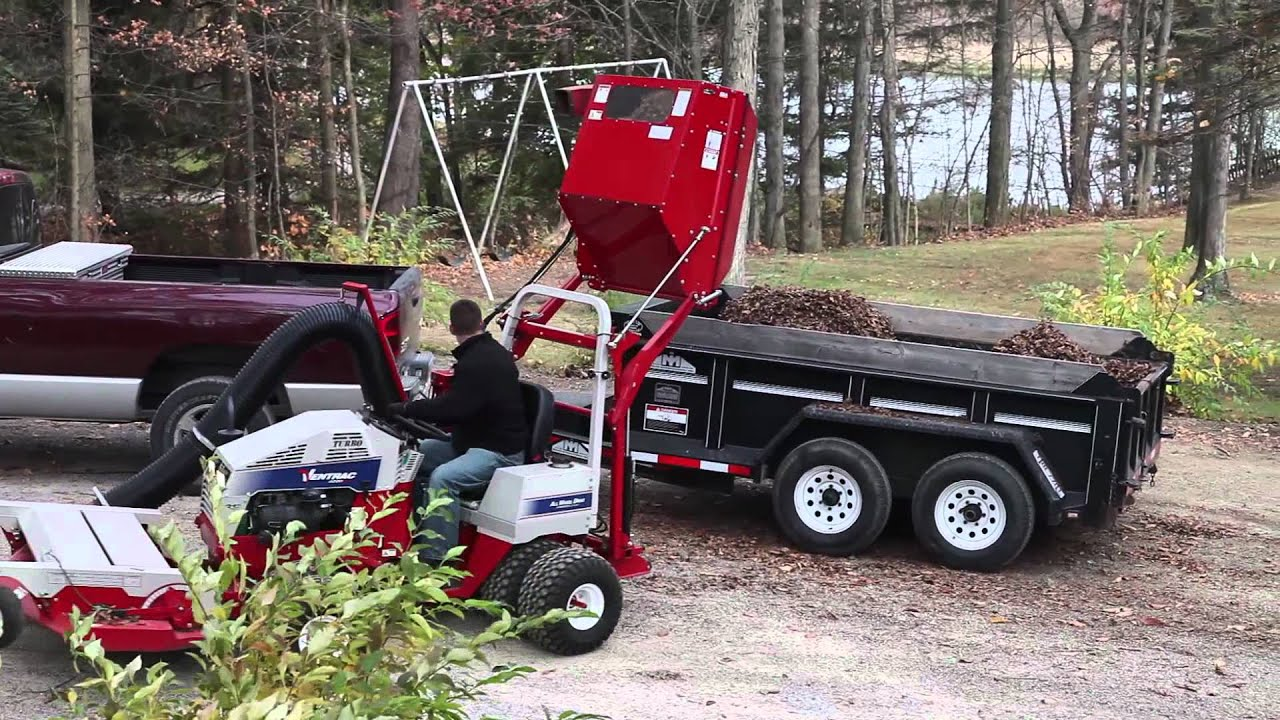 Ventrac Vacuum Collection System Rv600 Youtube