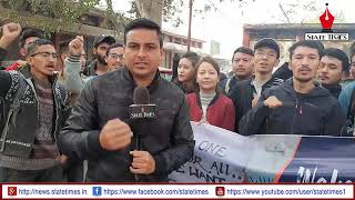 Jammu students in Ladakh for 6 schedule for Ladakh