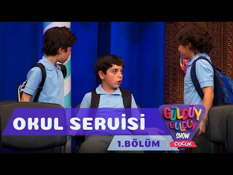 Güldüy Güldüy Show Çocuk 1. Bölüm, Okul Servisi Skeci