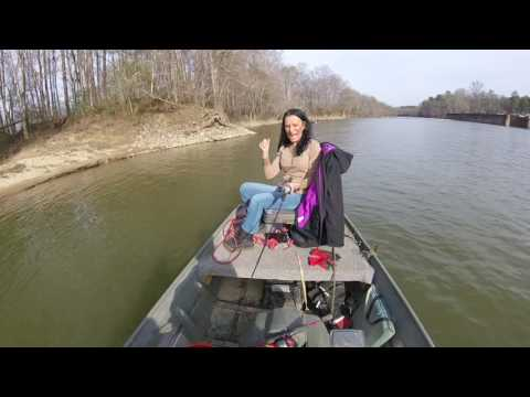 Crappie in February on the Coosa River