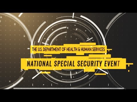 HHS: National Special Security Events