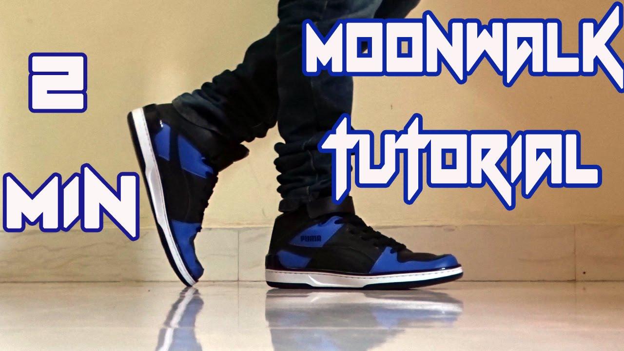 How to do the Moonwalk  Learn in 2 mins  YouTube