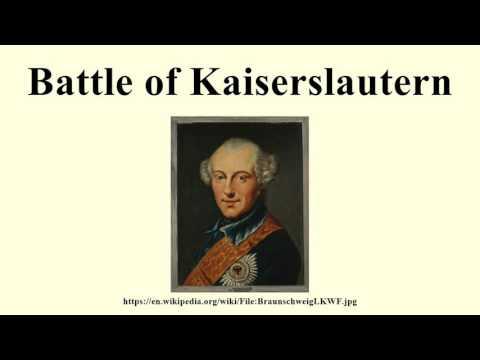 Battle of Kaiserslautern