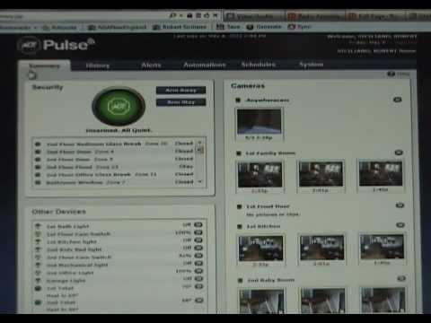 ADT Pulse® -- Using the Web Portal (Part 1)