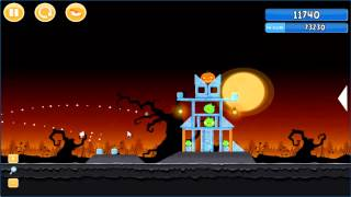 Angry Birds trick or treat 3 Estrellas parte 1-3